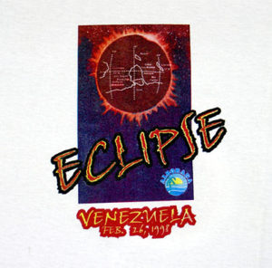 ベネズエラの皆既日食Tシャツ
